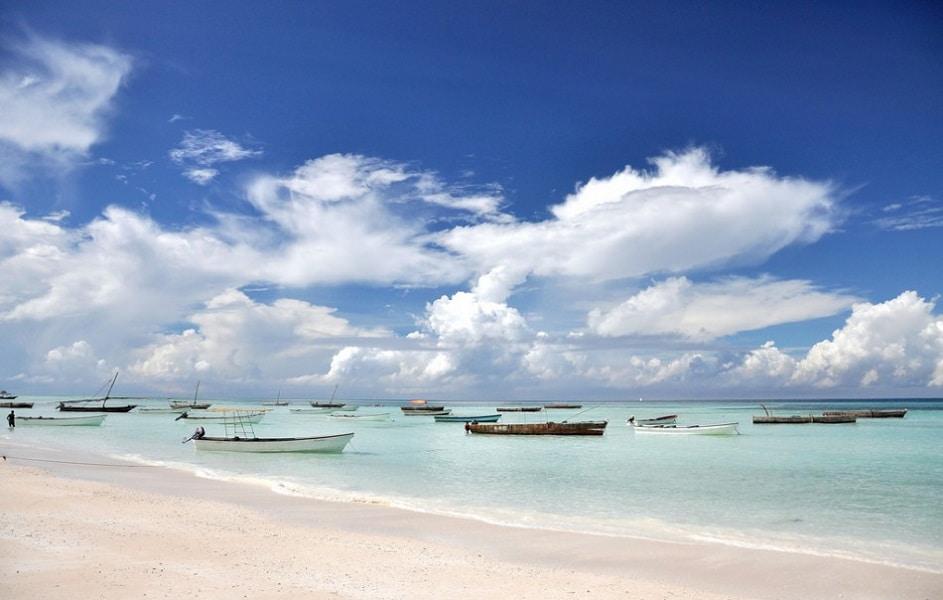 Отдых в Танзании. Занзибар Пляж