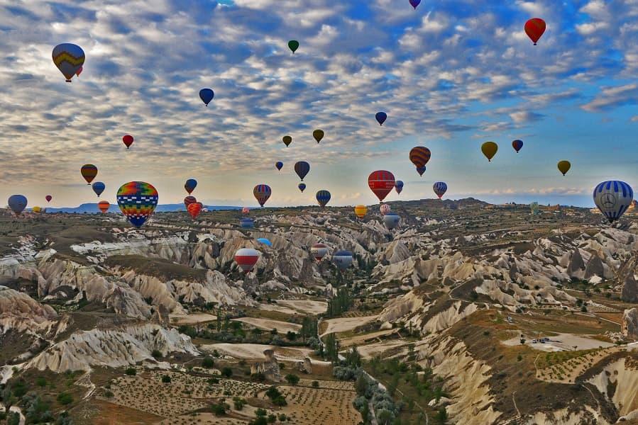 Отдых в Турции. Каппадокия. Воздушные шары