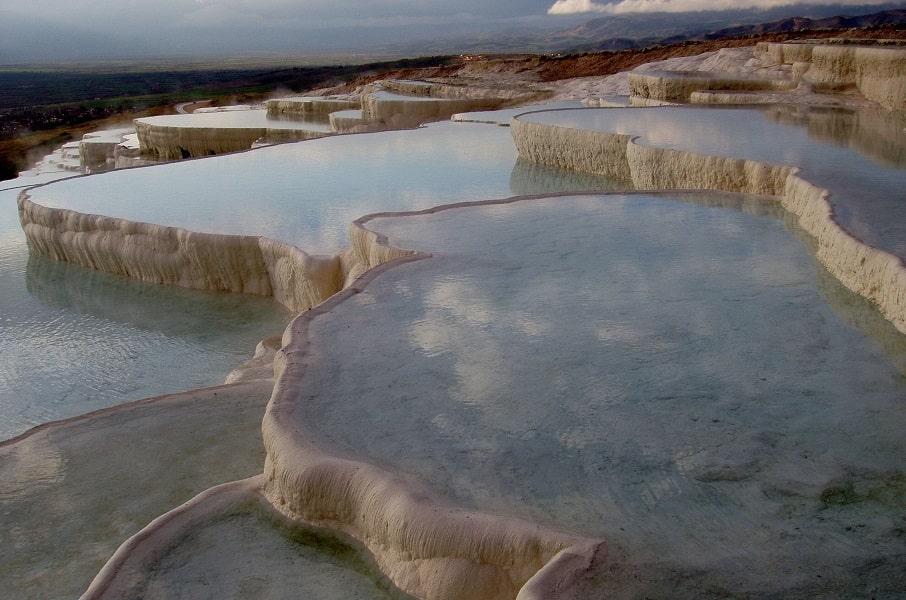 Отдых в Турцию. Памуккале. Бассейны Клеопатры фото