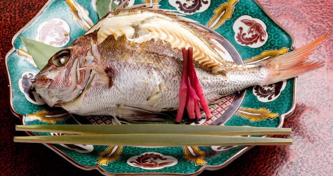 Отдых в Японии. Канадзава. Обед. Рыба