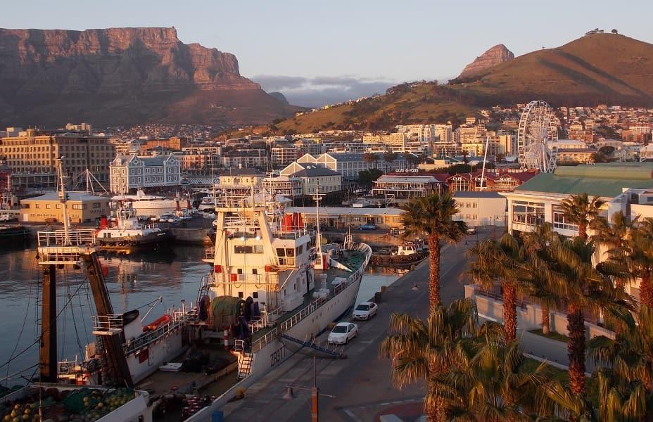 Отдых в ЮАР. Кейптаун. Набережная Виктории и Альфреда
