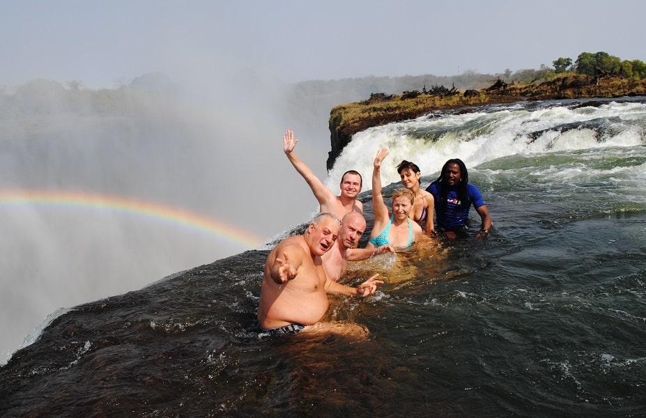 Отдых в Замбии. Экстремальная экскурсия на Водопаде Виктория