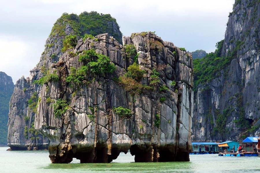 Отдых во Вьетнаме. Бухта Халонг фото