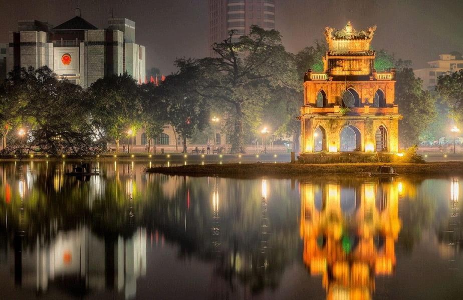 Отдых во Вьетнаме. Ханой. Озеро Возвращенного меча