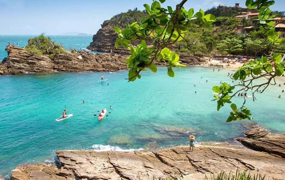 Пляжный отдых в Бразилии. Бузиос фото