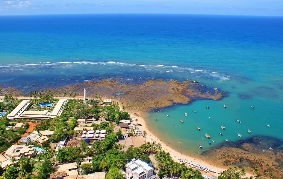 Пляжный отдых в Бразилии. Прайя до Форте фото