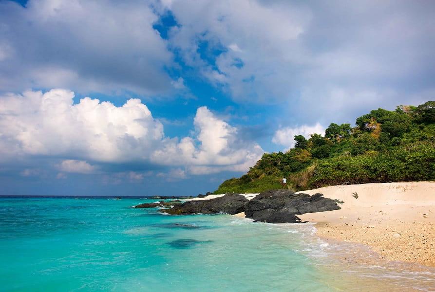 Пляжный отдых в Индии. Андаманы. Пляж фото