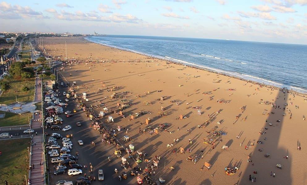 Пляжный отдых в Индии. Ченай.  Марина