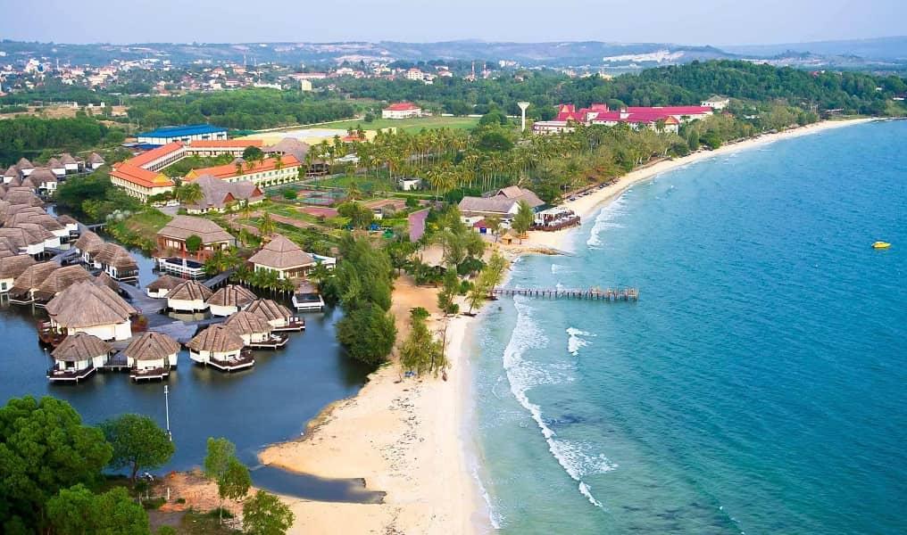 Пляжный отдых в Камбодже. Сиануквиль
