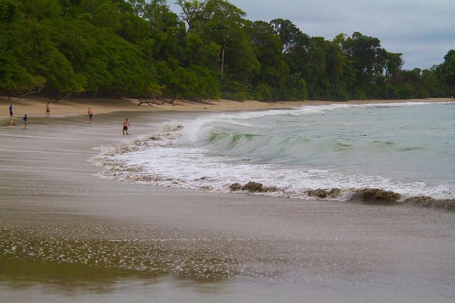 Пляжный отдых в Коста Рике национальный парк Мануаль Антонио