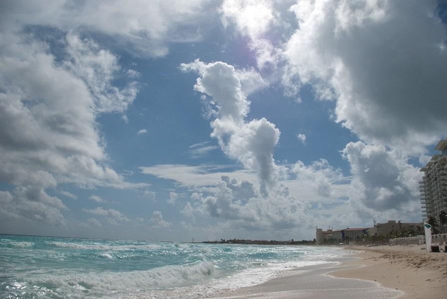 Пляжный отдых в Мексике. Канкун. Пляж