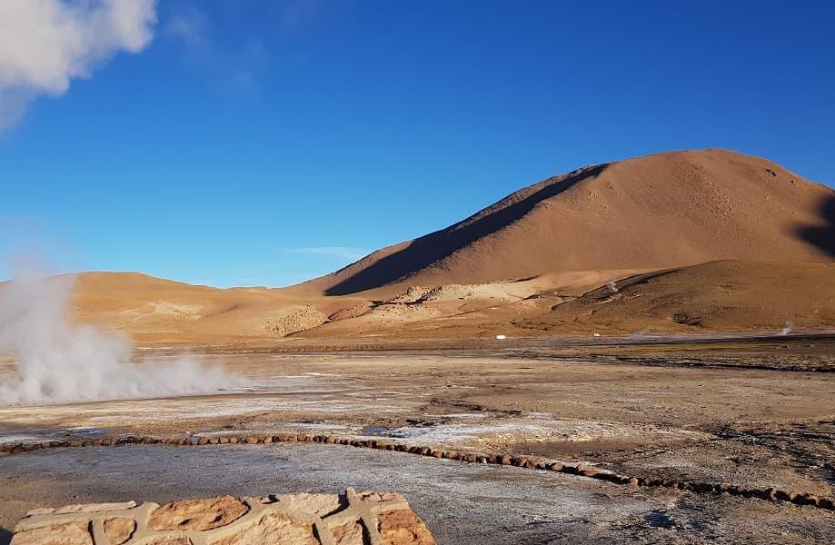 Поездка в Чили. Экскурсия к гейзерам Татио