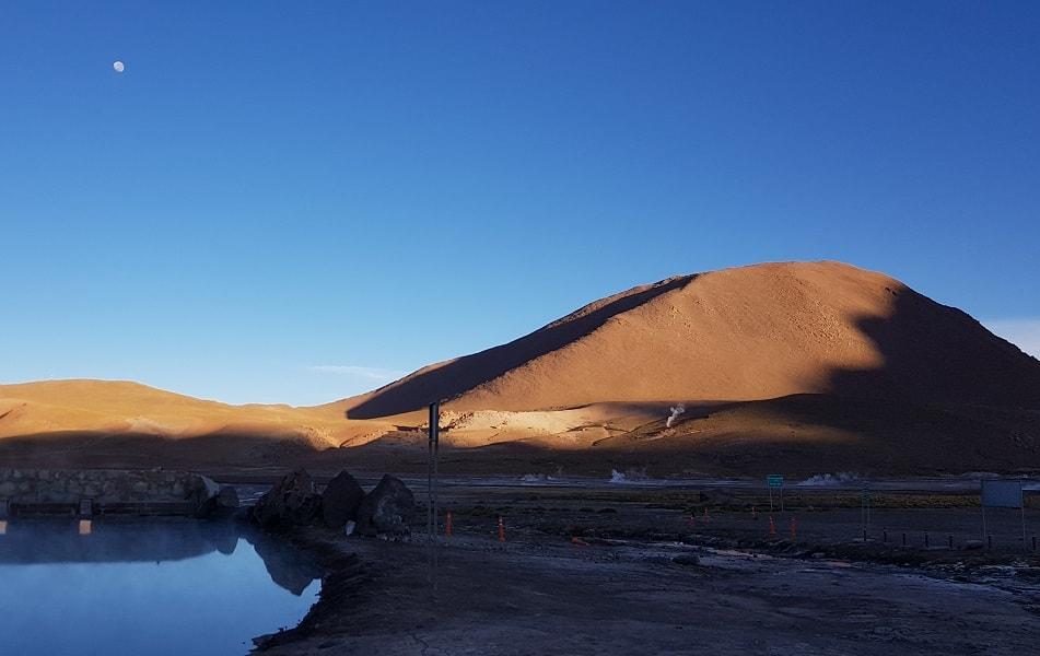 Чили. Гейзеры Татио