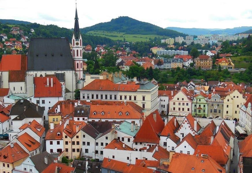 Поездка в Чехию. Экскурсия в Чешский Крумлов