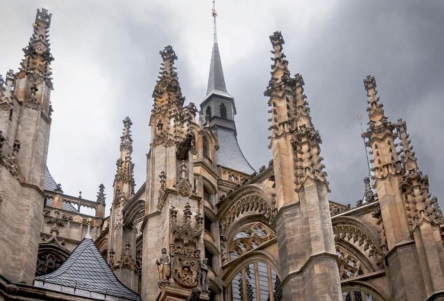Поездка в Чехию. Город Кутна Гора. Соборе святой Варвары