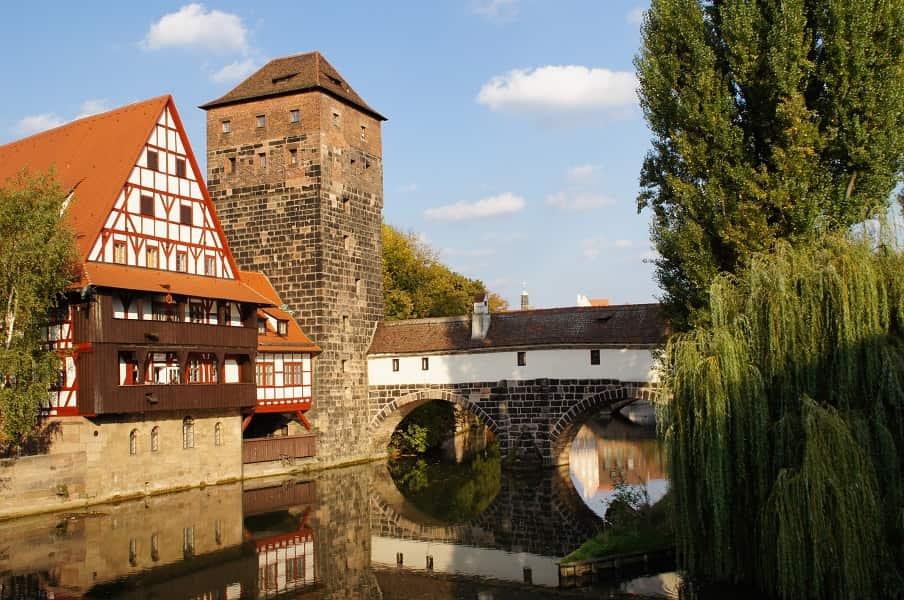 Поездка в Германию из Киева. Нюрнберг. Каналы города