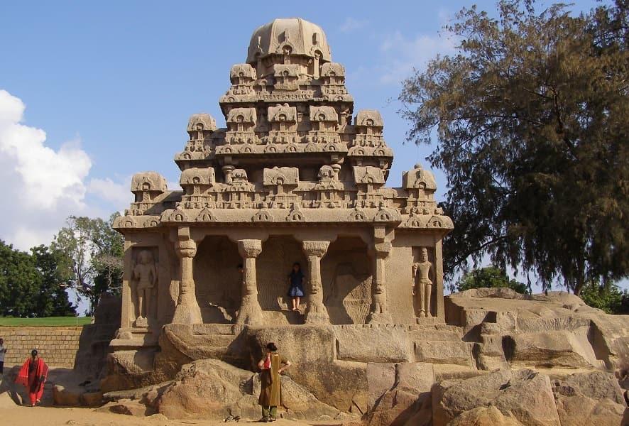 Поездка в Индию. Махабалипурам. Ратха