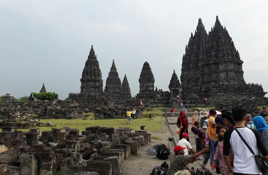 Поездка в Индонезию. Остров Ява. Храмовый комплекс Прамбанан