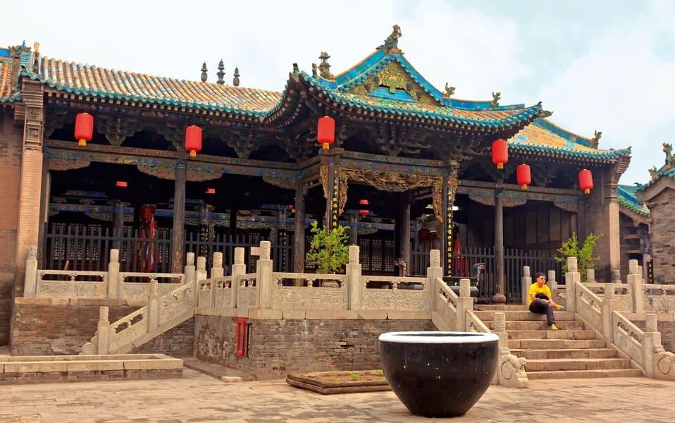 Поездка в Китай. Пиньяо. Храм