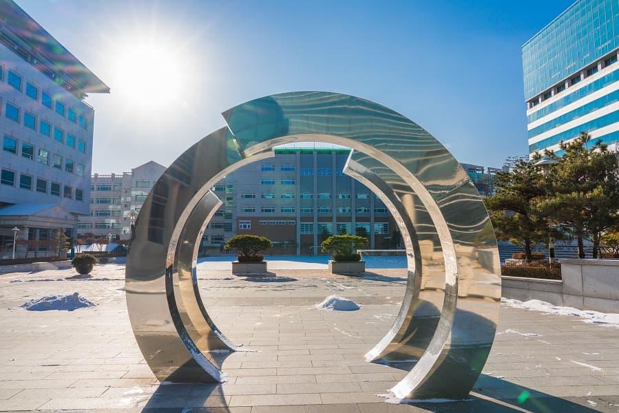 Поездка в Корею из Киева. Университет