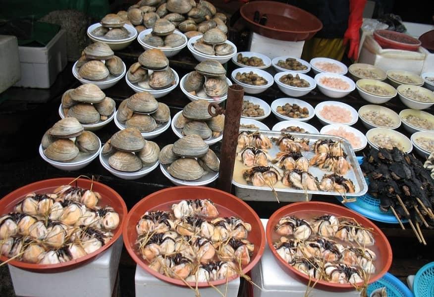 Поездка в Корею из Украины. Пусан. Рыбный рынок