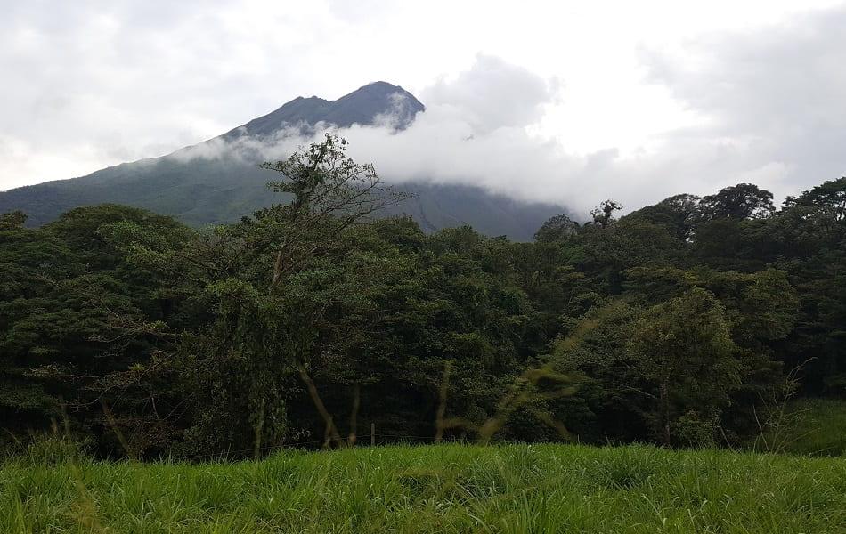 Поездка в Коста Рику. Фото вулкана Ареналь