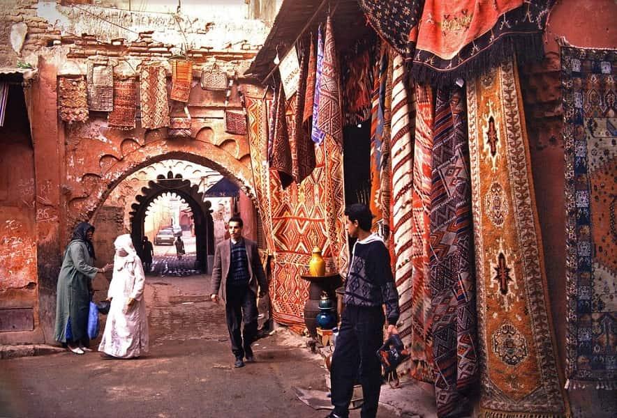 Поездка в Марокко. Марракеш. Цютный двор
