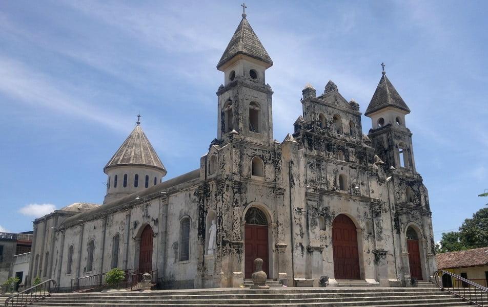 Поездка в Никарагуа. Гранада. Церковь Гваделупы
