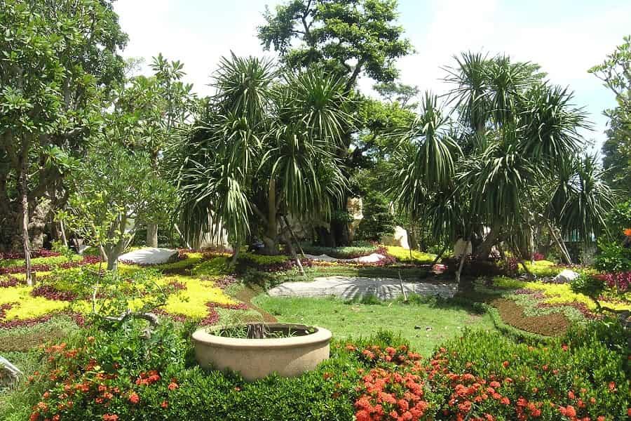 Поездка в Таиланд. Сад Нонг Нуч в Паттайе фото
