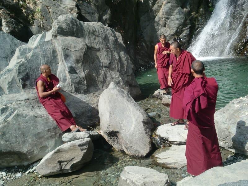 Поездка в Тибет. Лхаса. Монахи