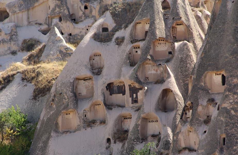 Поездка в Турцию. Каппадокия. Город в скалах