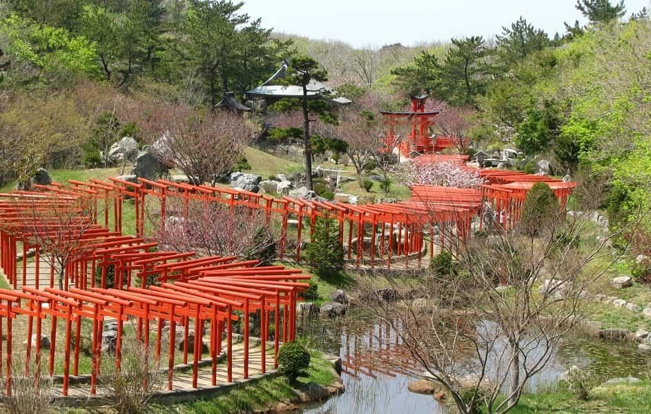 Поездка в Японию. Такаяма. Парк
