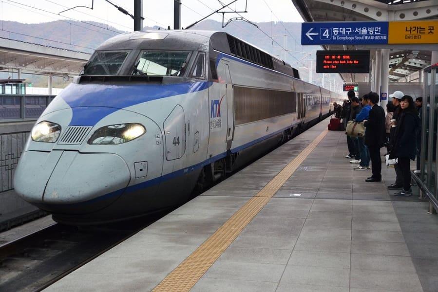 Путешествие по Корее. Кенджу. Поезд-Пуля