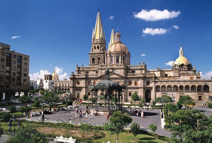 Путешествие по Мексике. Гвадалахара. Центральная площадь