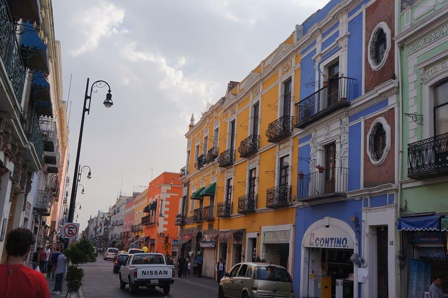 Путешествие по Мексике. Пуэбла. Улицы города
