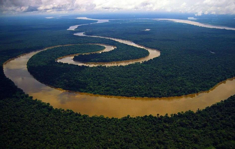 Путешествие в Бразилию. Манаус. Амазонка фото