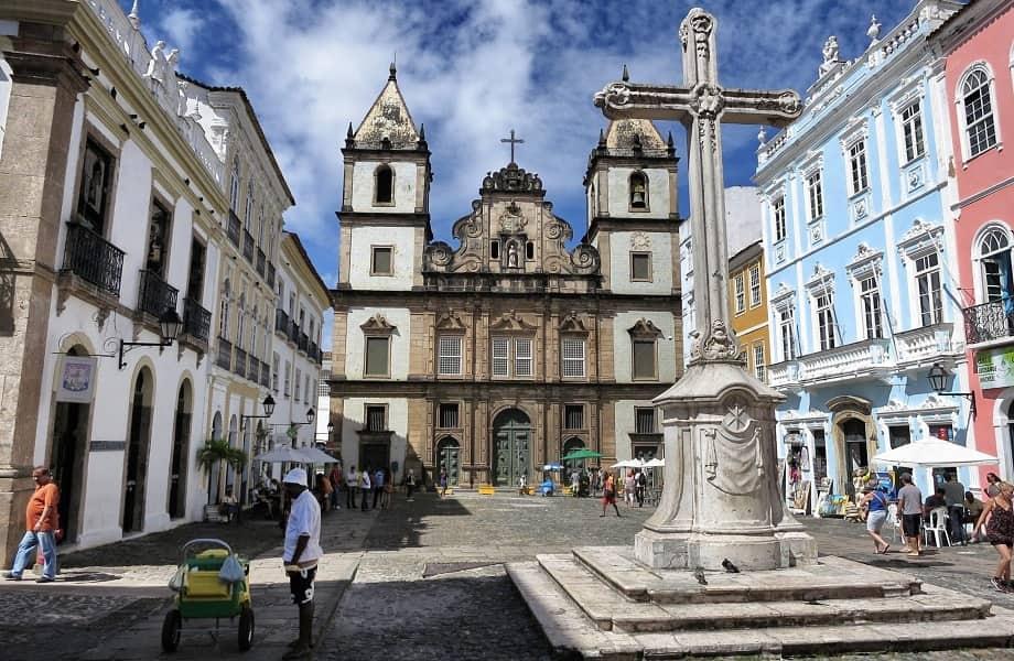 Путешествие в Бразилию. Сальвадор, Центральные улицы