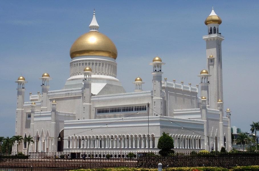 Путешествие в Бруней. Мечеть Омар Али Сайфудин