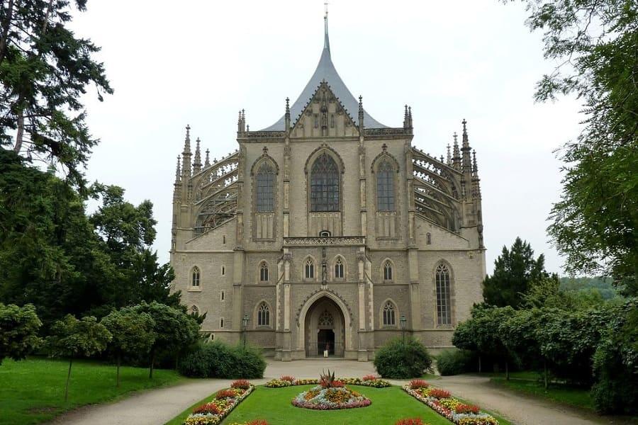 Путешествие в Чехию. Кутна Гора. Собор святой Варвары