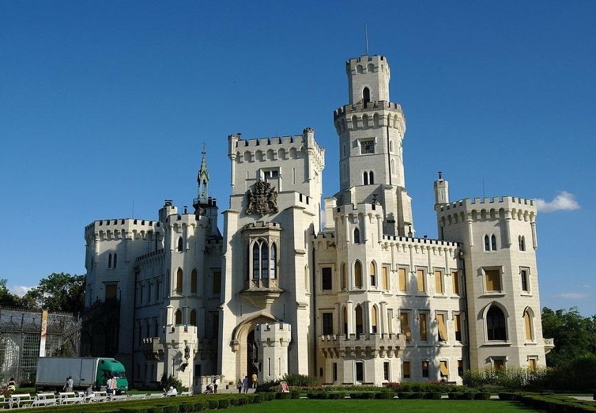 Путешествие в Чехию. Замок Глубока над Влтавой