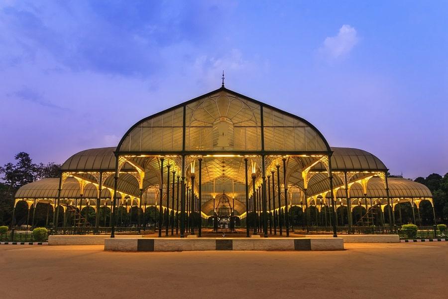Путешествие в Индию. Бангалор.  Ботанический парк