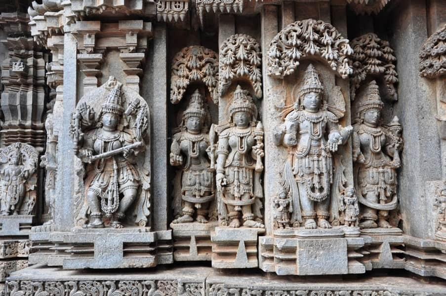 Путешествие в Индию. Сомнатхпур. Храм фото