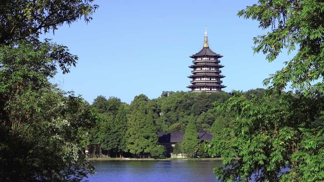 Путешествие в Китай. Ханчжоу. Пагода Семи Гармоний