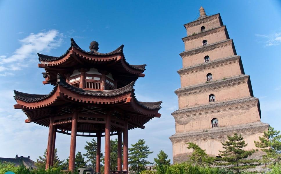 Путешествие в Китай. Сиань.  Пагода Дикого Гуся