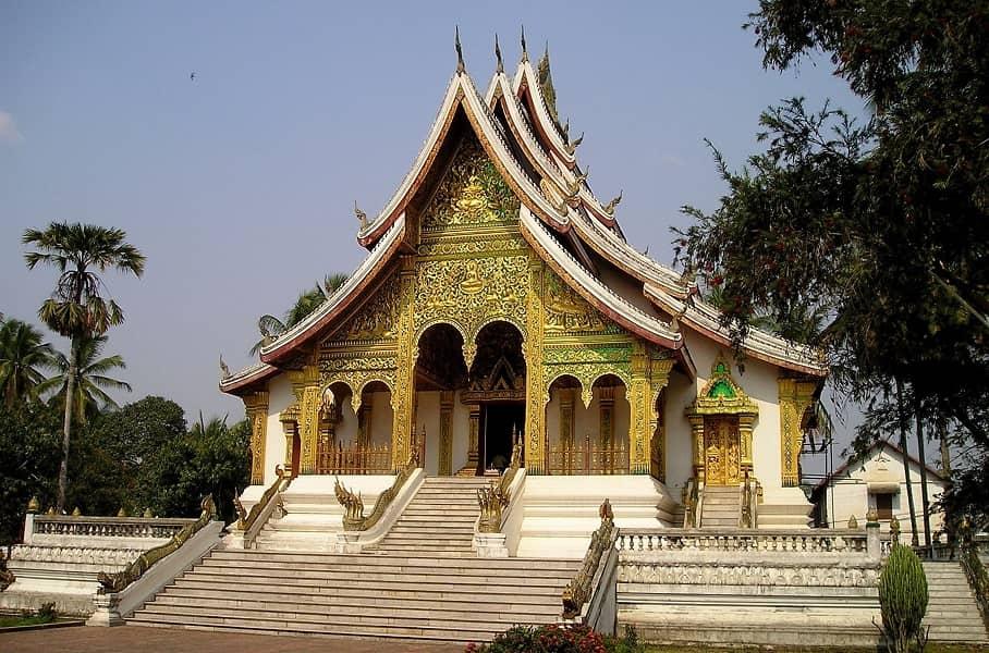Путешествие в Лаос. Храм Ват Ксиен Тонг в Луан Прабанге