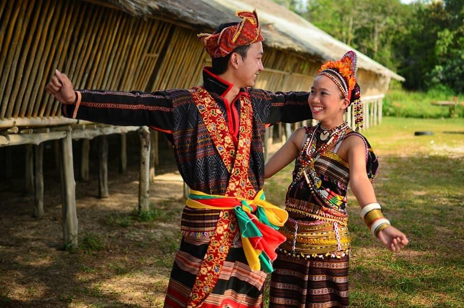 Путешествие в Малайзию. Племя Мари Мари