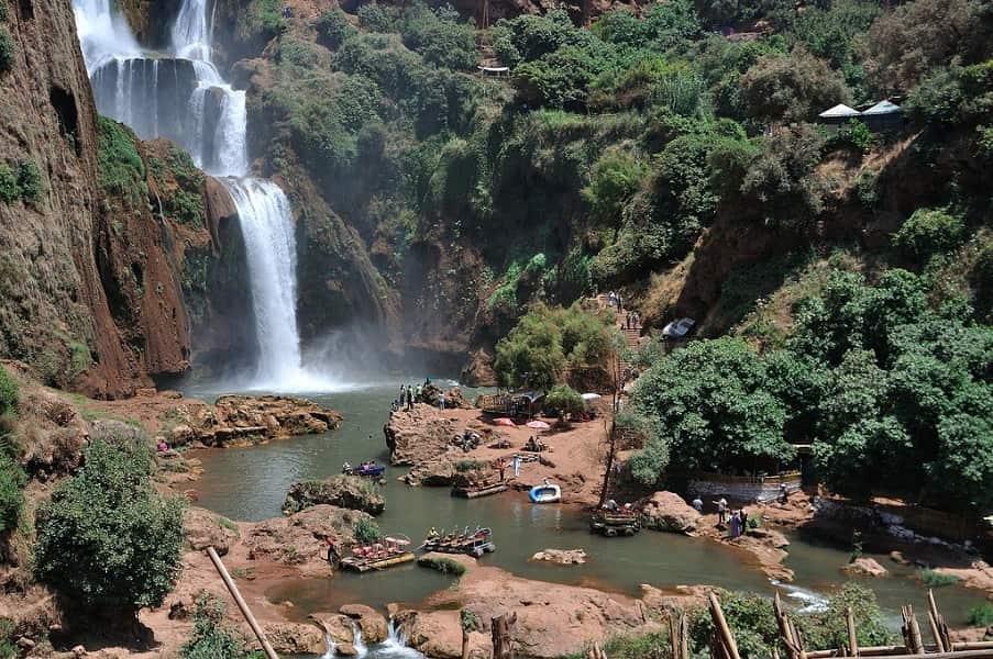 Путешествие в Марокко. Каскад Узуд Фото