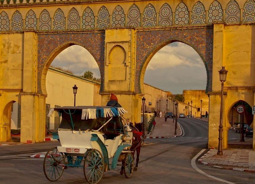Путешествие в Марокко. Марракеш. Извозчик