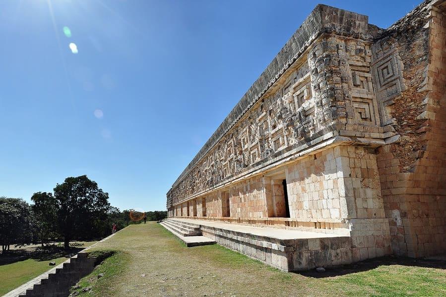 Путешествие в Мексику. Ушмаль фото
