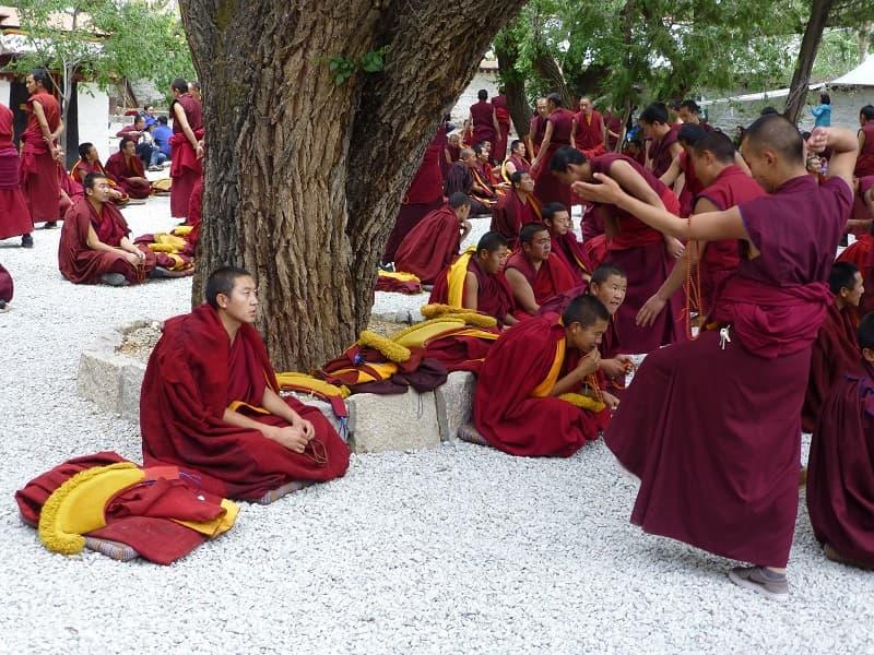 Путешествие в Тибет. Лхаса. Монастырь Сэра